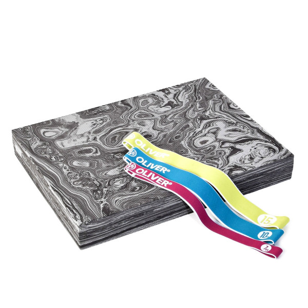 OLIVER Balance Pad PRO mit Tex-O Miniband 3er-Set