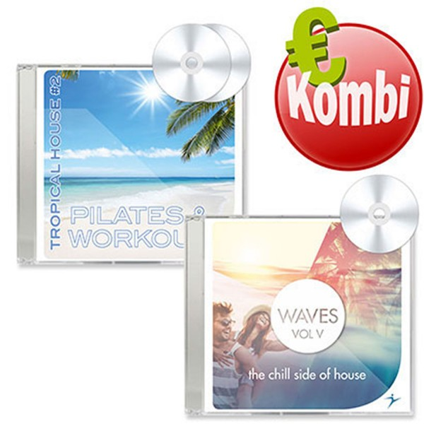 Pilates & Workout Tropical House #2 + Waves Vol. 5 - The Chill Side Of House