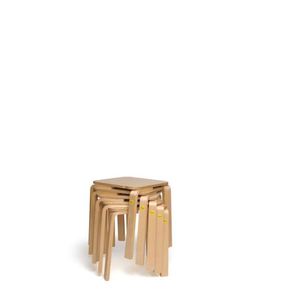 Sparpakete Erzi Hocker 25 aus Formholz stapelbar