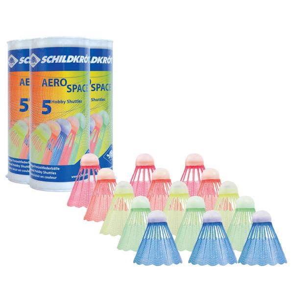 Schildkröt Badminton Bälle, 15 Stück