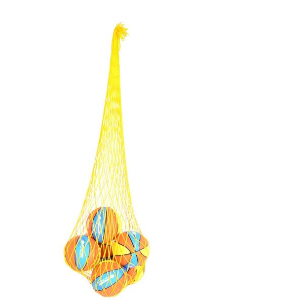 Schildkröt Mini-Basketbälle (15cm) im Ballnetz mit Pumpe