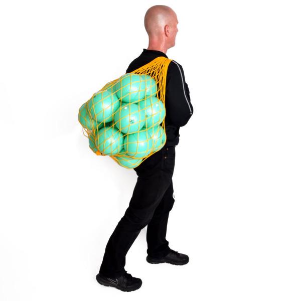 16 Pezzi Bälle MAXAFE 15cm Ø m. Ballnetz