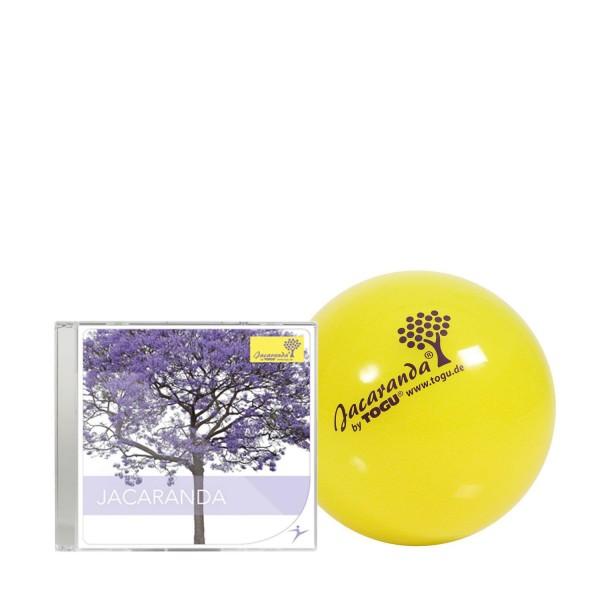 TOGU Jacaranda Ball 14 cm mit Jacaranda CD
