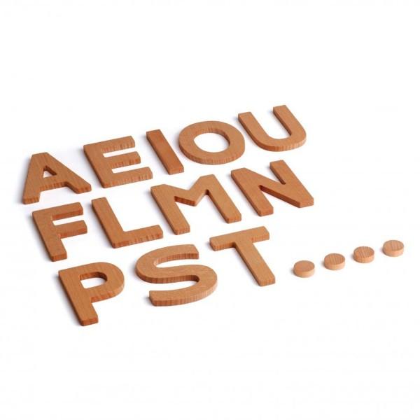 Erzi Holzbuchstaben 3D Zusatzset