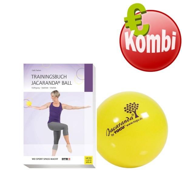 TOGU Jacaranda Ball mit Trainingsbuch Jacaranda Ball