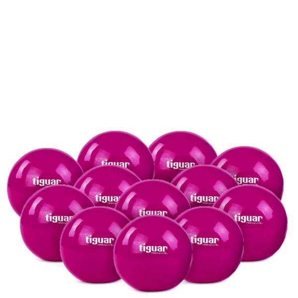 12x Tiguar Gewichtsbälle, 1.0 kg purple