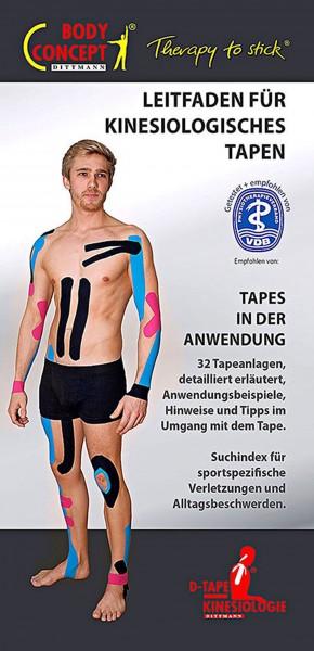 D-Tape® Kinesiologie Tapes, Leitfaden für das fachgerechte Tapen