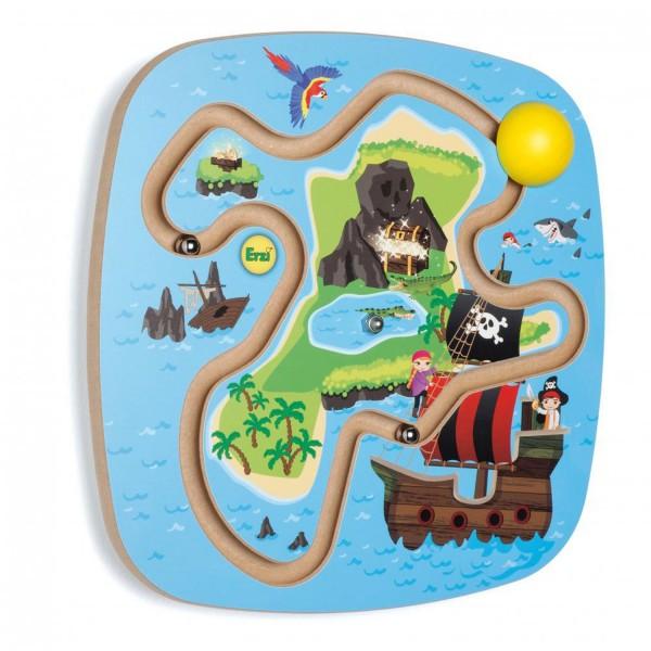 Erzi Wandspiel Piratenschatz