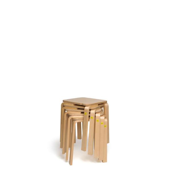 Sparpakete Erzi Hocker 30 aus Formholz stapelbar