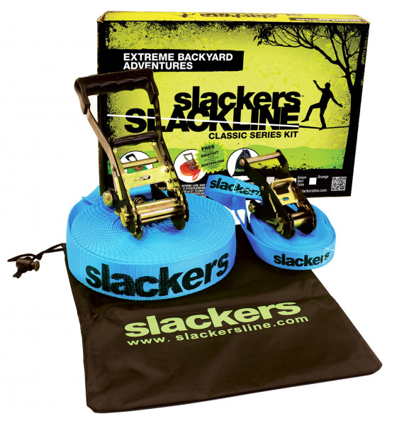 Slackers Slackline Classic incl.Teaching Line