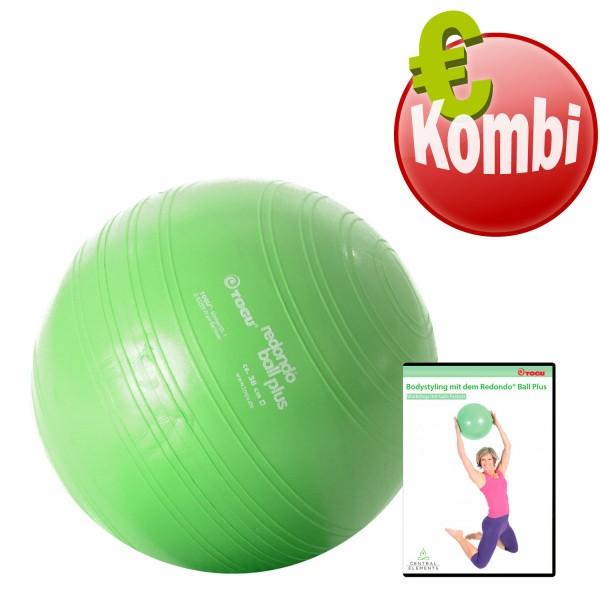 TOGU Redondo® Ball Plus 38 cm mit DVD Bodystyling mit dem Redondo Ball