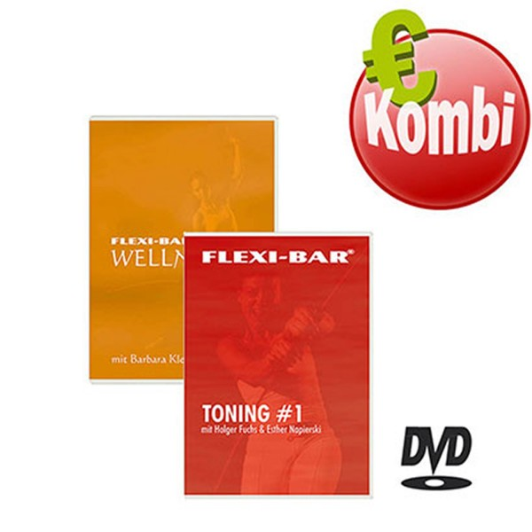 FLEXI-BAR Wellness/Toning-DVD - Kombi
