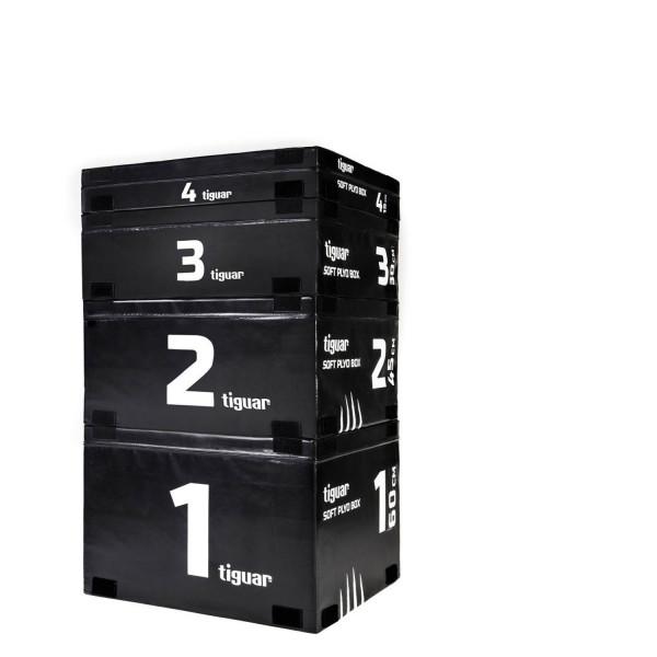 Tiguar Plyo Soft Box 4er-Set