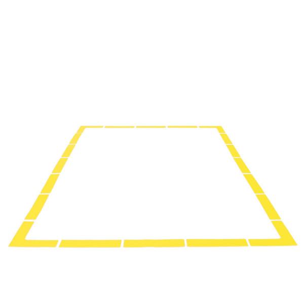 KAWANYO Bodenmarkierung Linien und Ecken - 20er Set