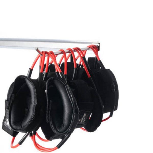 10er Paket DITTMANN Ankle-Tube rot/ stark