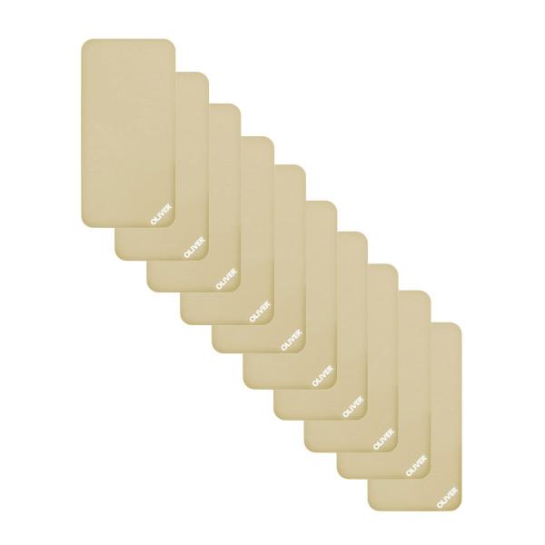 OLIVER Gymnastikmatte 120 (120x60x1cm) - 10er Pack