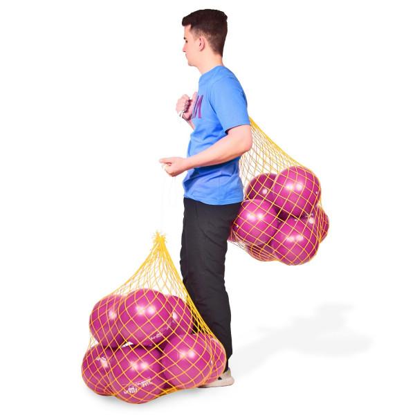 16 DITTMANN Pilatesbälle 26cm Ø plus 2 Ballnetze