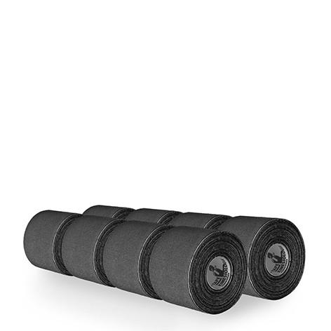 DITTMANN D-Tape Sparpakete, schwarze Kinesiologie Tape 5m Rollen