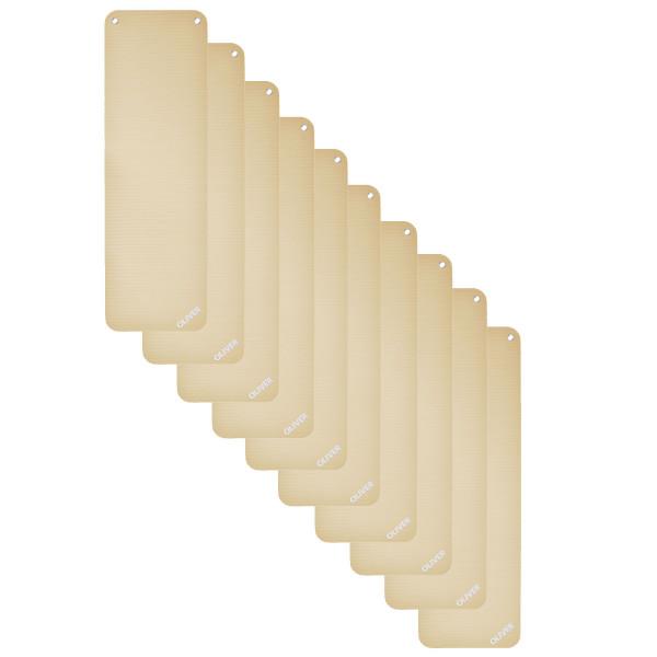 OLIVER Gymnastikmatte 180 (180x60x1cm) - 10er Pack