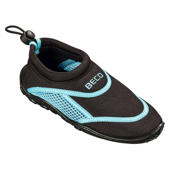 Beco Surf- und Badeschuhe für Kinder, schwarz/blau