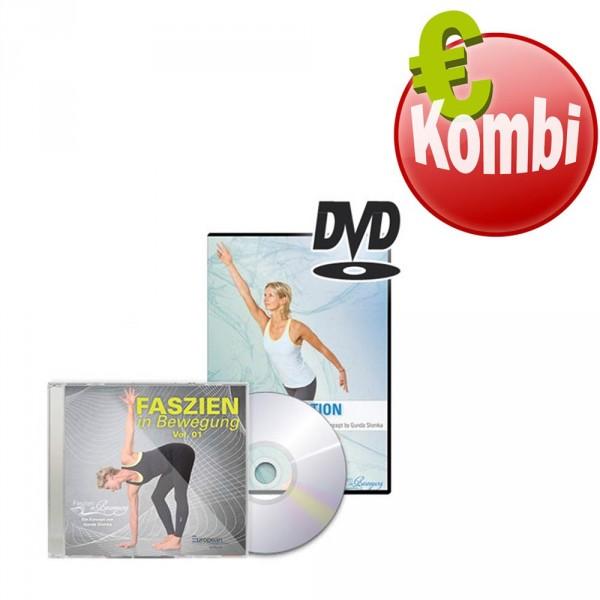 DVD & CD Kombi Faszien in Bewegung