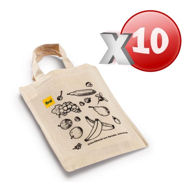 Erzi 10 Einkaufsbeutel für den Kaufladen