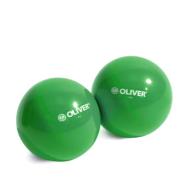 OLIVER Gewichts- & Toningbälle 2 x 0.5kg oder 2 x 1kg