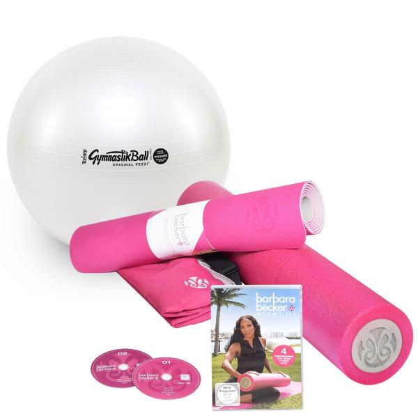 Barbara Becker Fitness Set mit Pezzi® Gymnastikball MAXAFE