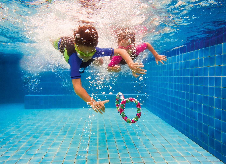 BECO Kinder Neopren Tauchbälle Sealife 3er Set