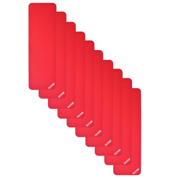 OLIVER Gymnastikmatte 180+ (180x60x1.5cm) 10er Pack