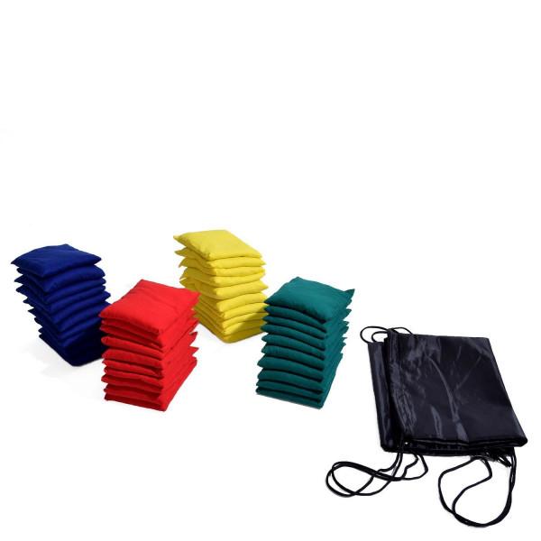 KAWANYO Bohnensäckchen 40er Kombi mit 2 Taschen