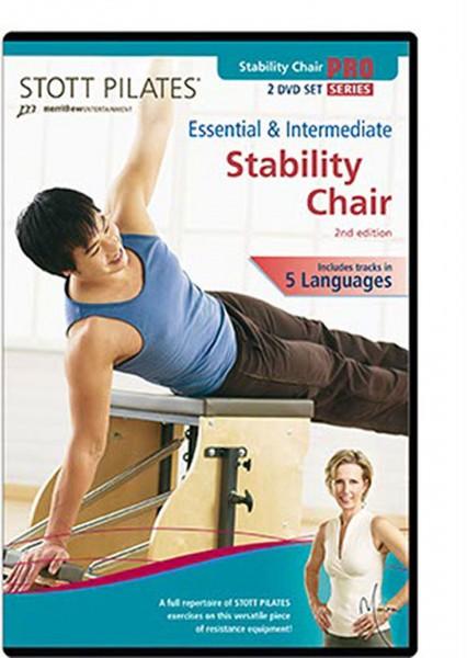STOTT PILATES® Essential & Intermediate Stability Chair, 2nd Edition