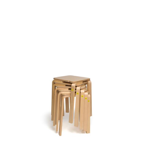 Sparpakete Erzi Hocker 35 aus Formholz stapelbar