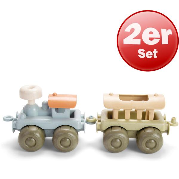 Dantoy BIO PLAST Zug-Set 2 tlg.