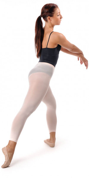 Ballettstrumpfhose 'Footless' - rosé