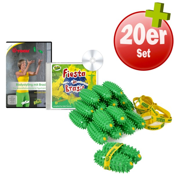 20x TOGU Brasil + CD (126 BPM) + DVD