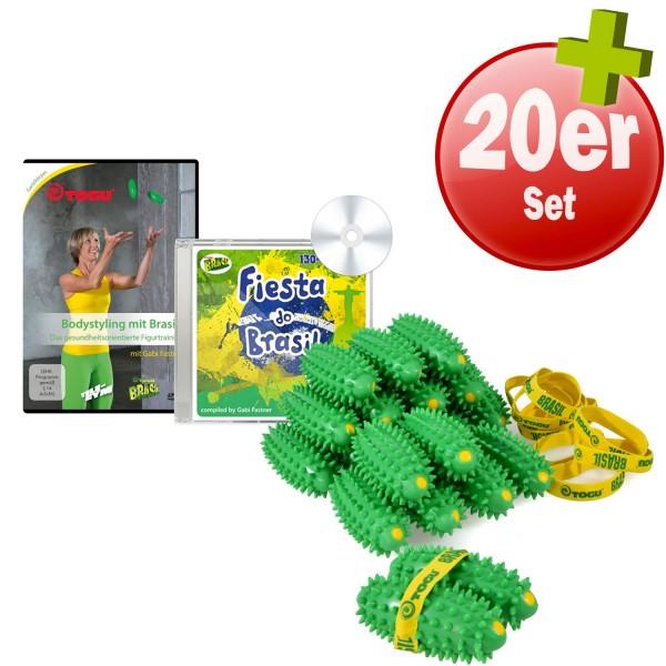 20x TOGU Brasil + CD (130-136 BPM) + DVD