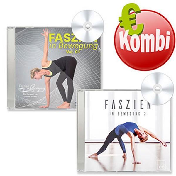 CD Kombi Faszien in Bewegung Vol. 1 & 2