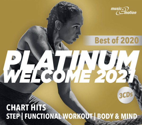 music-e-motion Platinum Welcome 2021 (3 CDs) - Best of 2020