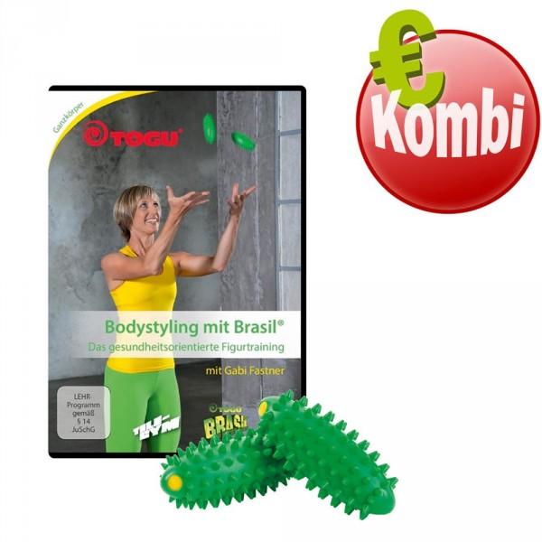 TOGU® Bodystyling mit Brasil DVD-Set