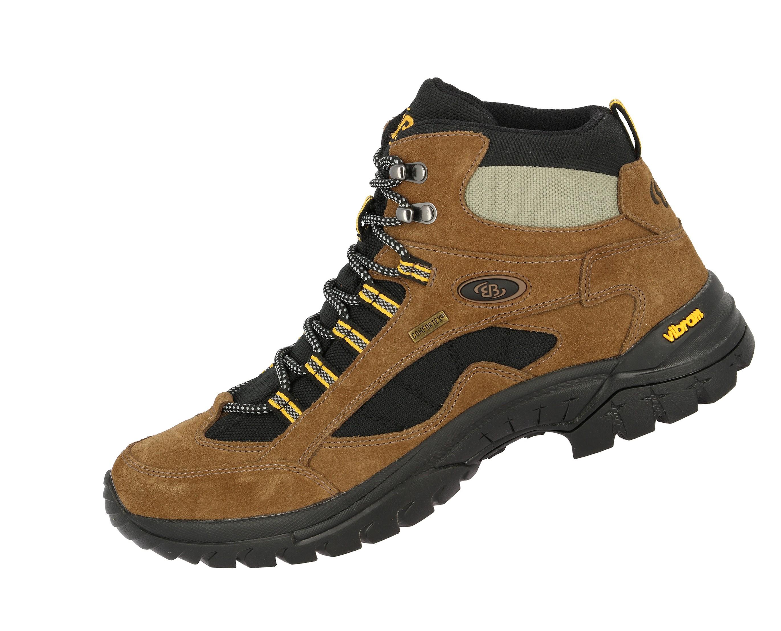Details about Brütting Chiemney Rock Wanderstiefel Trekking Wandern Stiefel Schuhe braun