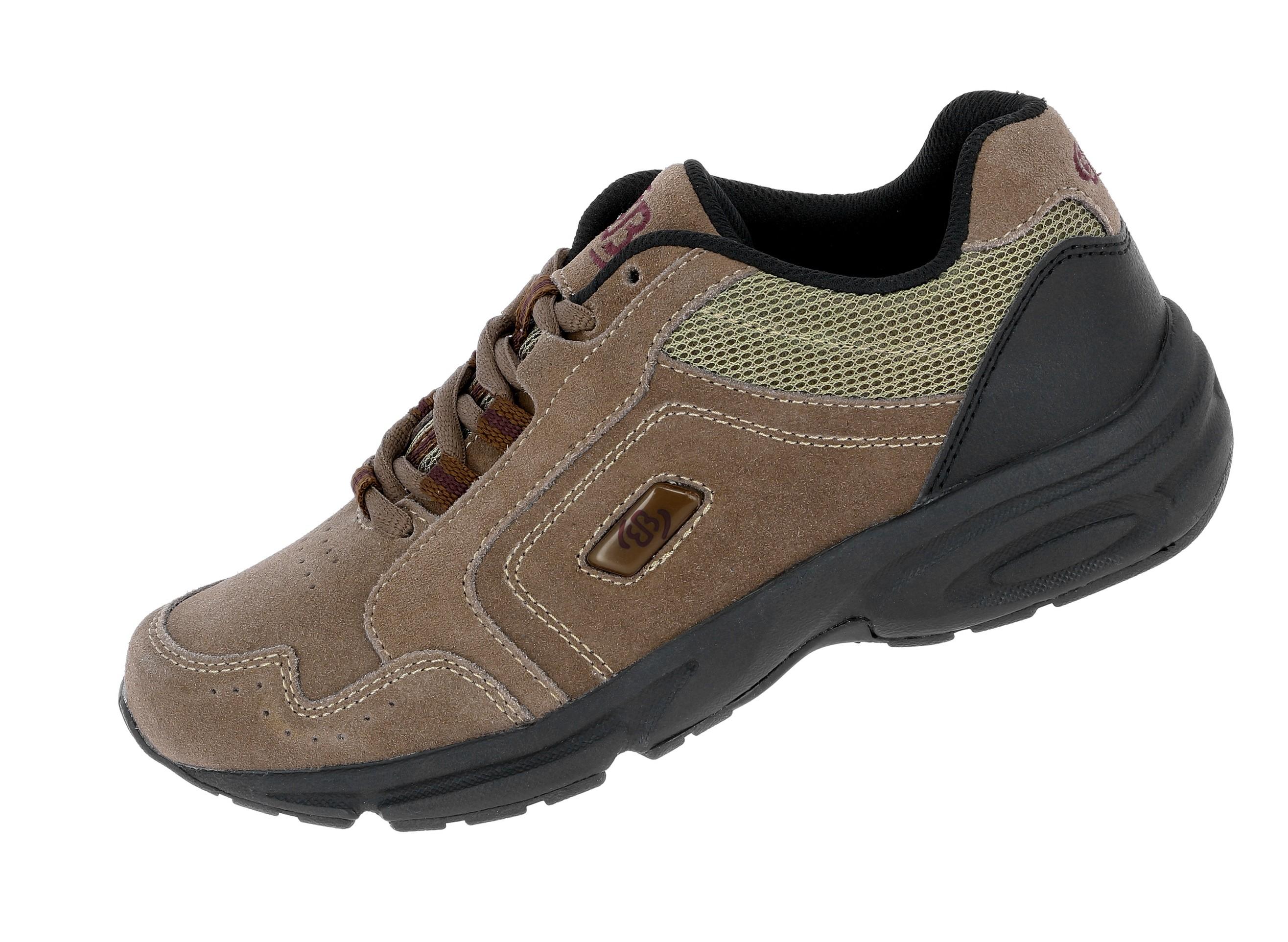 Details zu Brütting Circle Nordic Walking Schuhe Freizeit Outdoor Sneaker braun